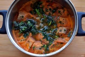 Томатный суп с нутом и беконом - фото шаг 6