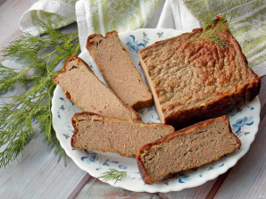 Печеночный хлеб - фото шаг 11