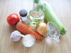 Салат из кабачков с рисом на зиму - фото шаг 1