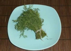 Творог с зеленью и чесноком - фото шаг 1