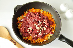 Паштет из куриной печени с морковью - фото шаг 4