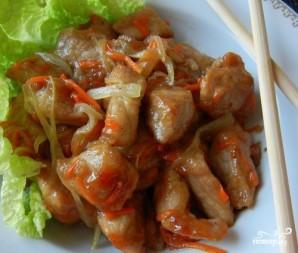 Свинина по-китайски в кисло-сладком соусе - фото шаг 7