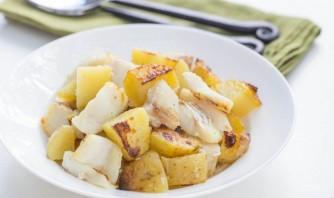 Картофель с треской - фото шаг 5