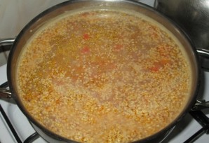 Постный чечевичный суп - фото шаг 4