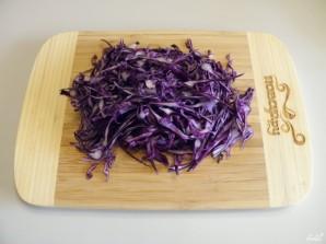 Салат с консервированной кукурузой - фото шаг 3