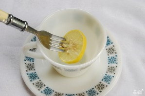 Лимон с сахаром - фото шаг 4
