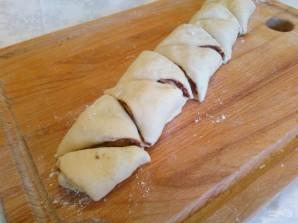 Дрожжевое печенье с шоколадным штрейзелем - фото шаг 10