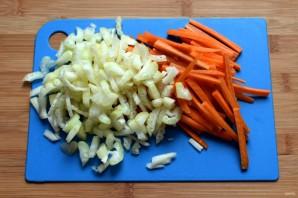 Суп с сельдереем и кабачком «Вести с полей» - фото шаг 2