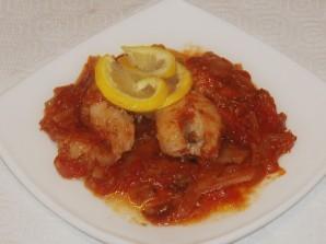Рыба заливная в томате - фото шаг 8
