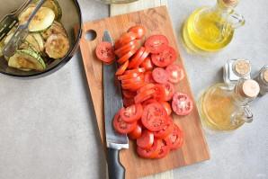 Салат из кабачков и помидоров - фото шаг 6