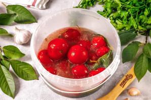 Газированные помидоры холодным способом - фото шаг 5