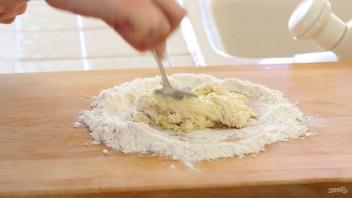 Штрудель с сыром и изюмом - фото шаг 3