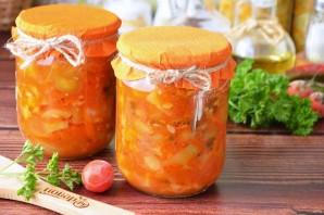 Салат из кабачков и огурцов - фото шаг 9