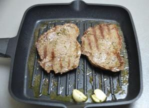 Шницель из мраморной говядины - фото шаг 7