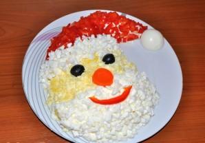"Салат ""Дед Мороз-Красный нос"" - фото шаг 5"