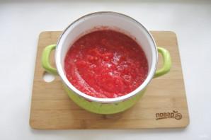 Сок из помидоров через мясорубку - фото шаг 4