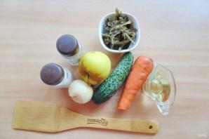 Витаминный салат из морской капусты - фото шаг 1