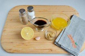 Простой маринад для курицы из меда и горчицы - фото шаг 1
