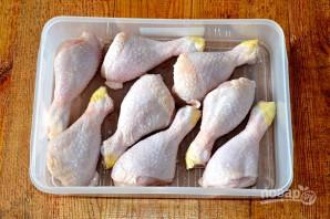 Шашлык из курицы в гранатовом соке - фото шаг 2