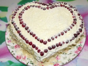 """Торт """"Влюбленное сердце"""" - фото шаг 8"""