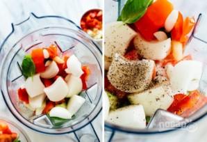 Холодный помидорный суп - фото шаг 2