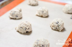 Овсяное печенье с кофейной глазурью - фото шаг 3