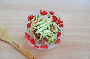 Витаминный салат из морской капусты - фото шаг 5