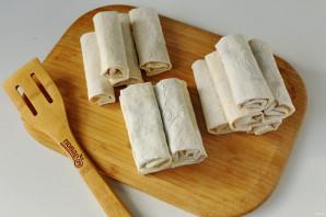 Пирожки из лаваша с начинкой - фото шаг 12
