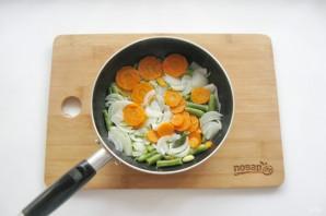 Мясные котлеты с овощами - фото шаг 4