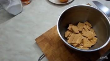 Вкусный десерт из персиков - фото шаг 1