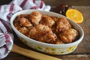 Курица с финиками по-магрибски - фото шаг 9