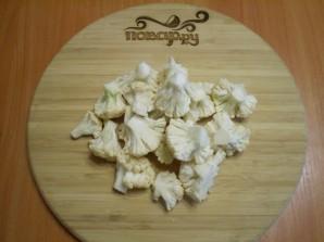 Маринованная цветная капуста со свеклой - фото шаг 2