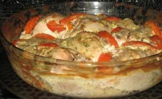 Курица в чесночном соусе - фото шаг 5
