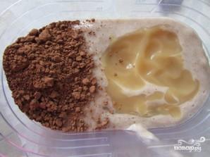 Постный торт без выпечки из печенья - фото шаг 3