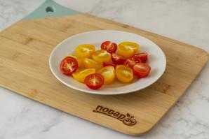 """Салат """"Микс"""" с помидорами"""