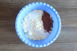 """Печенье """"Полосатое"""" - фото шаг 4"""