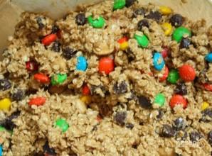 Овсяное печенье с разноцветными драже - фото шаг 6