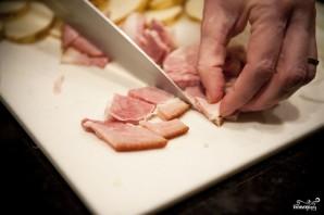 Картофельная запеканка с беконом - фото шаг 4