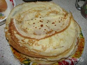 Тесто для блинов с мясом - фото шаг 5