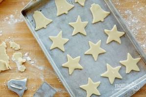 Рождественское печенье из песочного теста - фото шаг 4