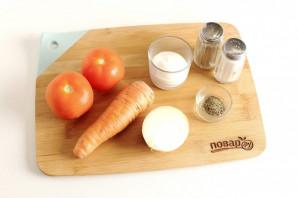 Салат из помидоров и моркови - фото шаг 1