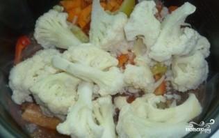 Тушеные овощи с мясом в мультиварке - фото шаг 3