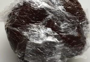 Шоколадное печенье с начинкой - фото шаг 4
