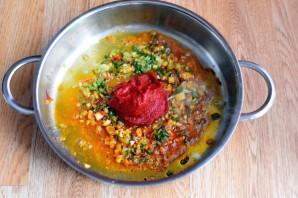 Рис с томатной пастой - фото шаг 3