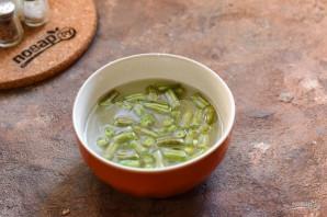 Салат со стручковой фасолью без майонеза - фото шаг 2