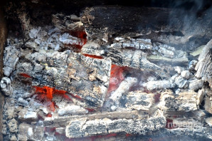 Шашлык из минтая - фото шаг 9