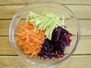"""Овощной салат """"Здоровье""""  - фото шаг 5"""
