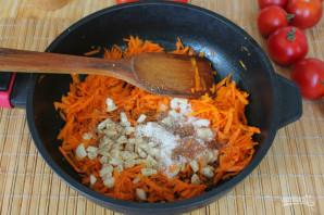 Перец фаршированный морковью на зиму - фото шаг 5