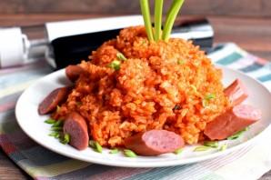 Рис с томатной пастой - фото шаг 5