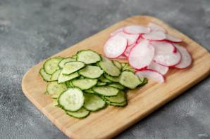 Карпаччо из овощей - фото шаг 2